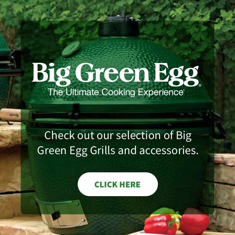 More info about Big Green Egg Grills and accessories.