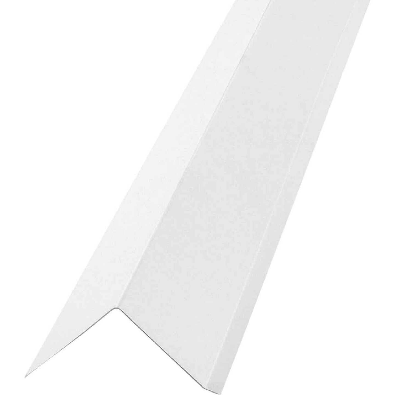 NorWesco G Galvanized Steel Drip Cap Flashing, White Image 1