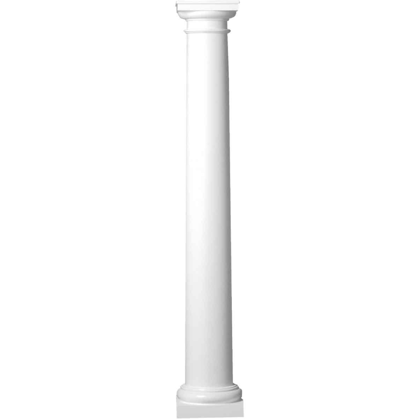 Crown Column 8 In. x 8 Ft. Unfinished Round Fiberglass Column Image 1