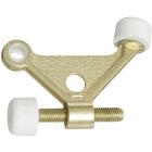 National Brass Zinc Hinge Pin Door Stop Image 1
