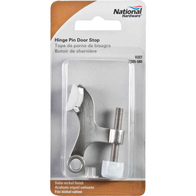 National Gallery Series Satin Nickel Hinge Pin Door Stop Image 2