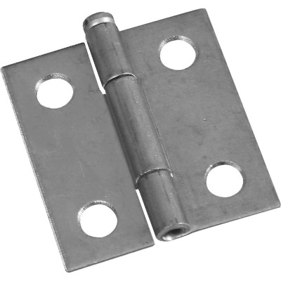National 1-1/2 In. Zinc Loose-Pin Narrow Hinge (2-Pack)