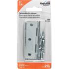 National 3 In. Zinc Loose-Pin Narrow Hinge (2-Pack) Image 2