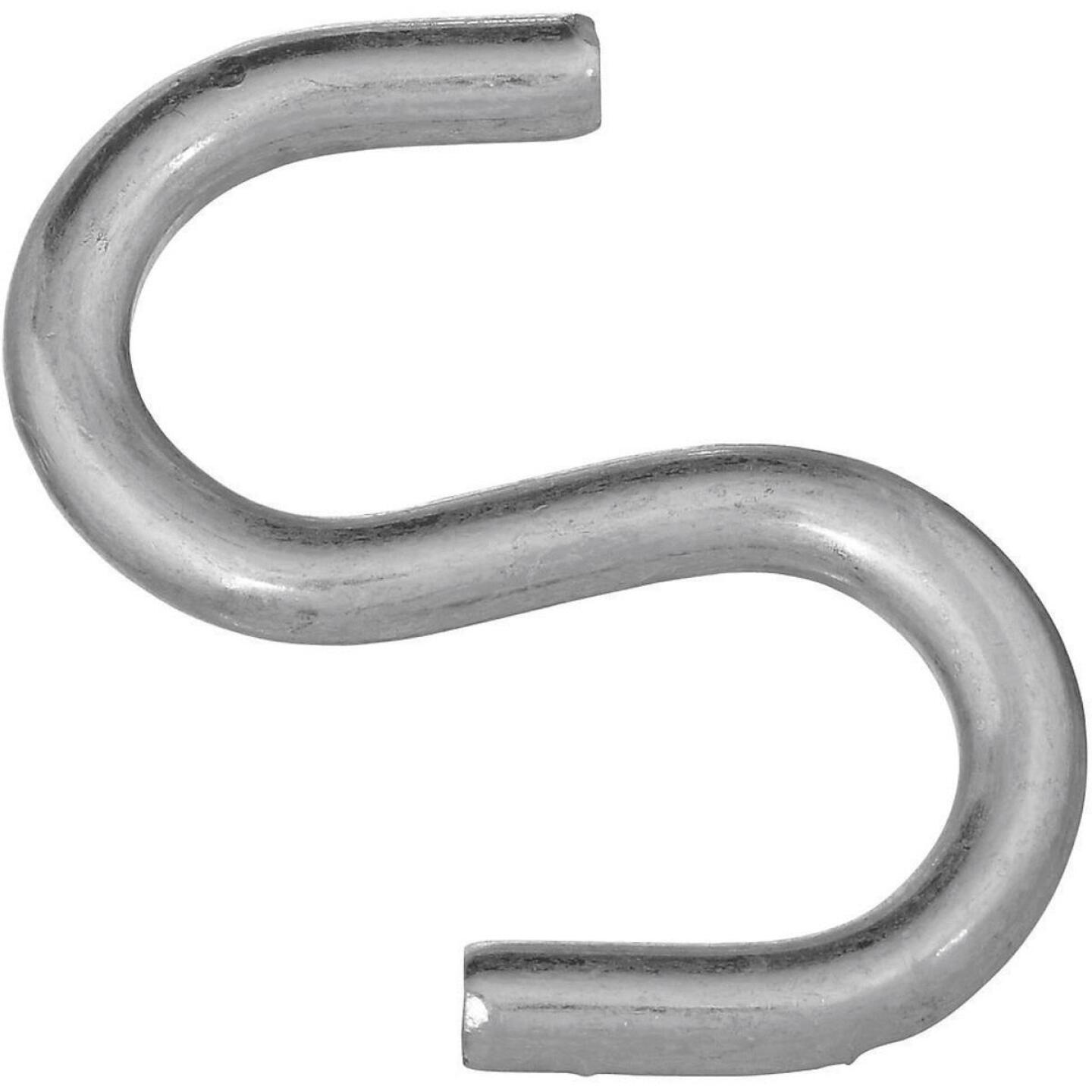 National 3 In. Zinc Heavy Open S Hook Image 1