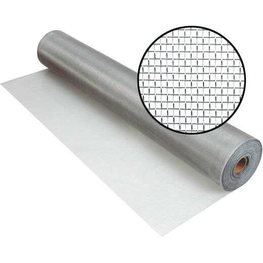 Phifer 60 In. x 100 Ft. Brite Aluminum Screen