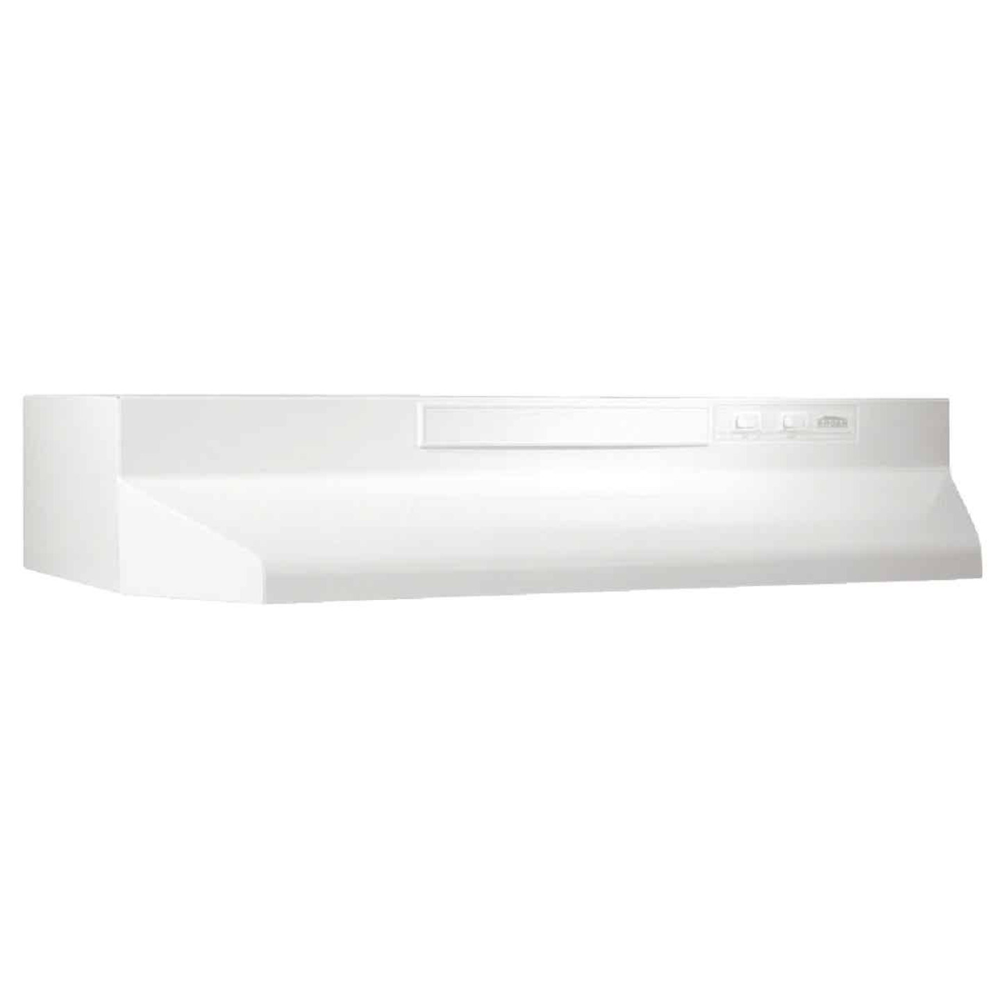 Broan-Nutone F Series 36 In. Convertible White Range Hood Image 1