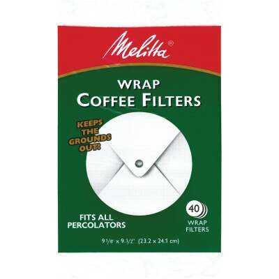 Melitta White Wrap Coffee Filter (40-Pack)