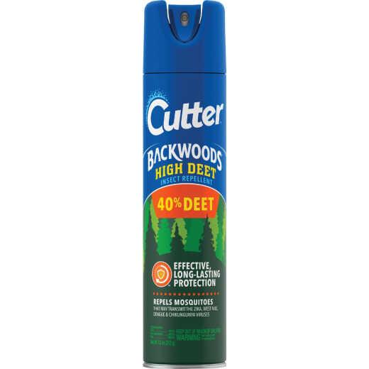 Cutter Backwoods High Deet 7.5 Oz. Insect Repellent Aerosol Spray