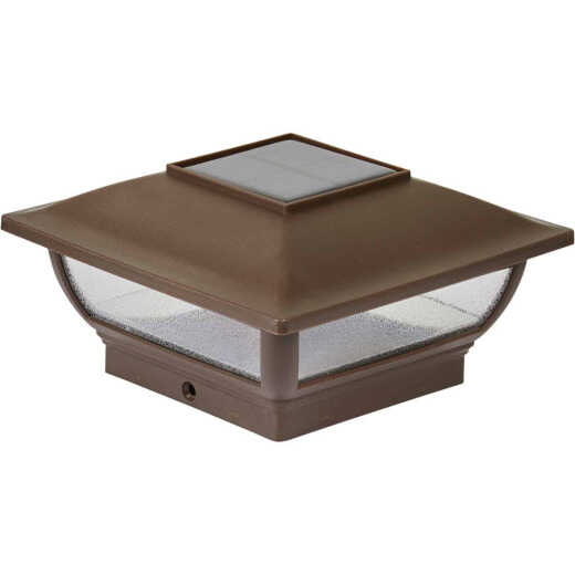 Moonrays Bronze Plastic Solar Post Cap